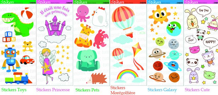 Stickers pour chambre enfant- Babydeal