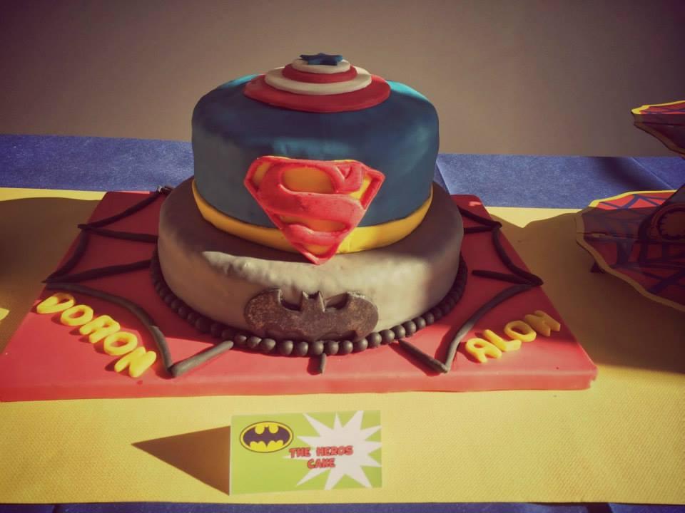 gateau-superman