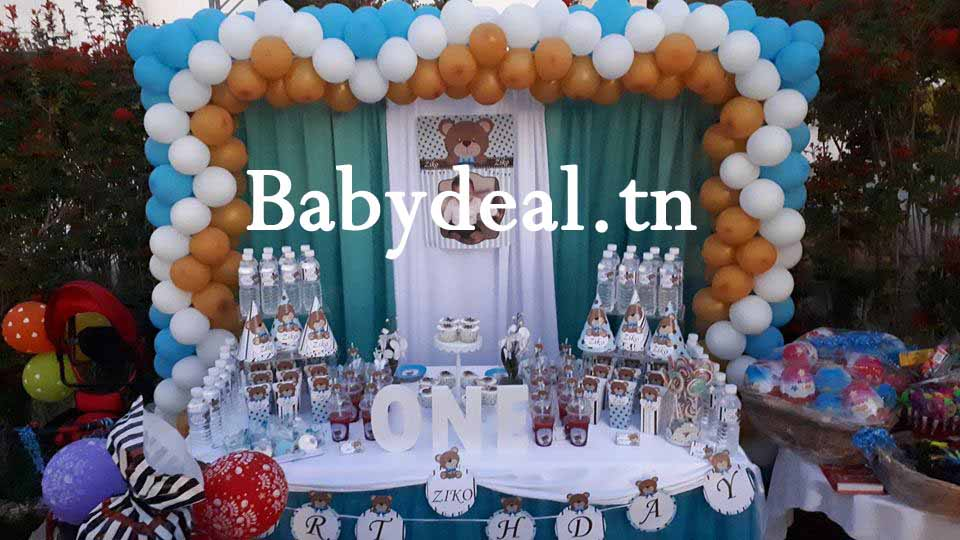 sweet-table-ourson-blue-babydeal