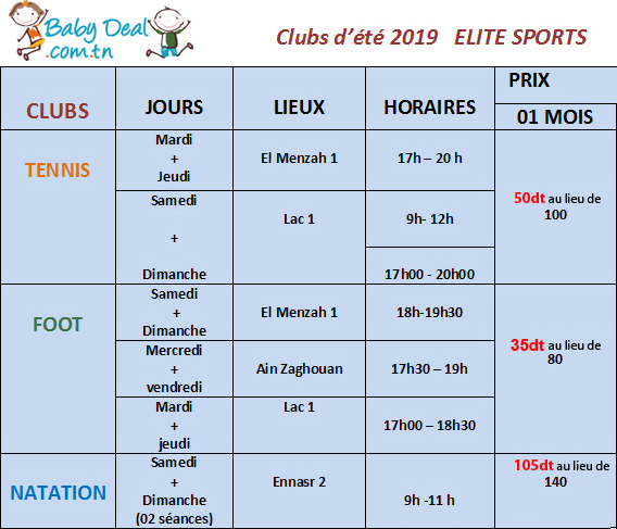 club-ete-elite-babydeal-aout-2019