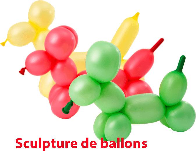 sclupture de ballons-babydeal